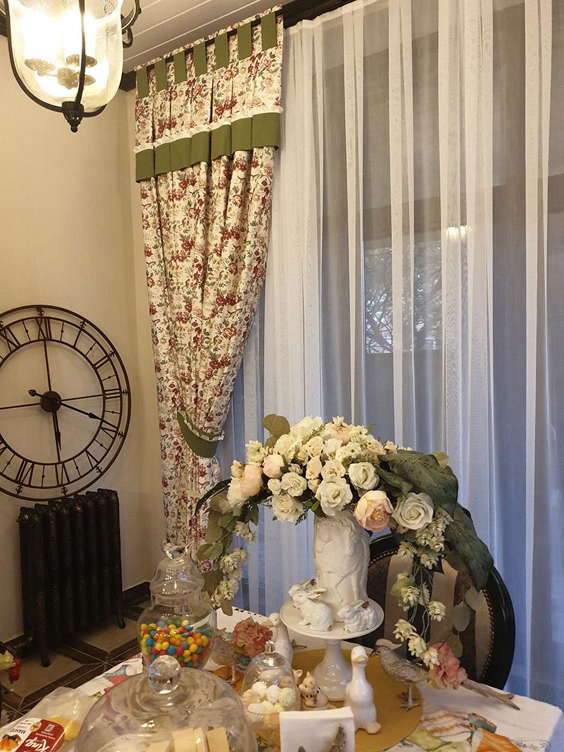 Пошив штор для кухни на заказ