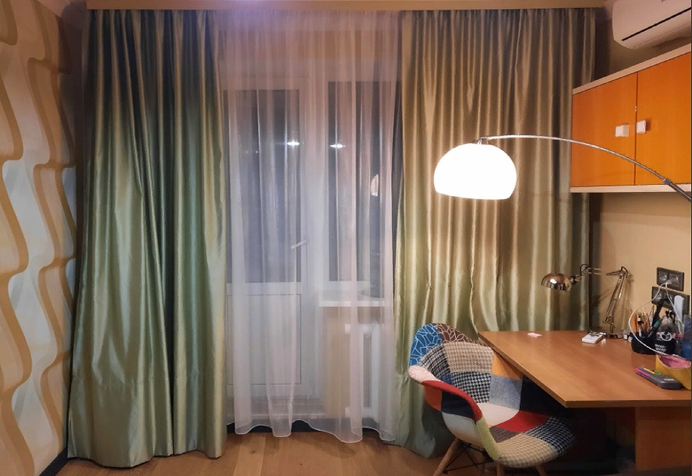 В нашем салоне вы можете заказать пошив штор современного дизайна из лучших европейских тканей
