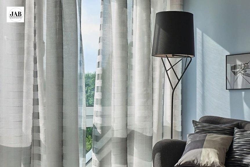 Тюль - очень красивый и элегантный материал для гардин и штор